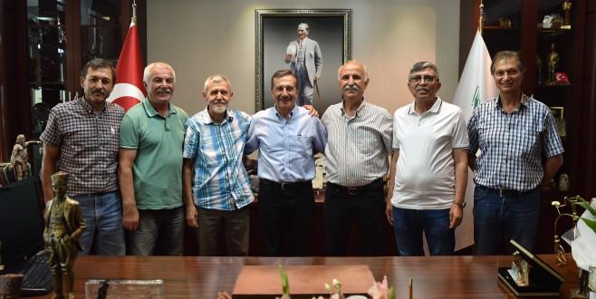 ADANIRSPOR'DAN BAŞKAN ATAÇ'A ZİYARET