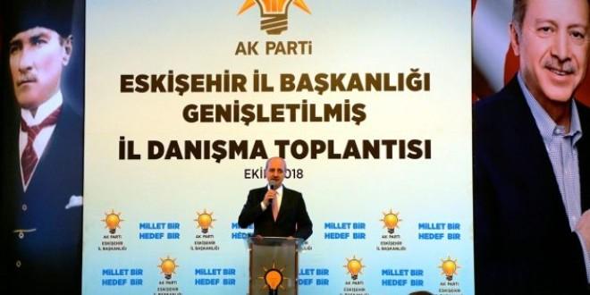 AK Parti Eskişehir İl Danışma Toplantısında Kurtulmuş, Açıklamalarda Bulundu