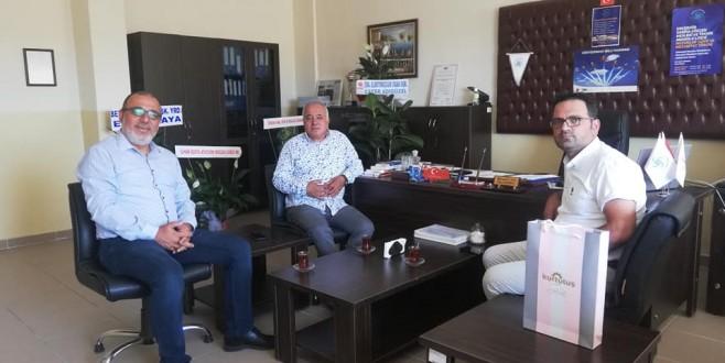 Cafer ADIGÜZEL Sabiha Gökcen Lisesi Müdürü İlhami Can'nı ziyaret etti