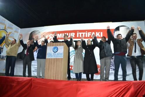 Cumhur İttifakı Seçim Bürosu Bayram Yeri Gibi