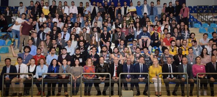 ESOGÜ 2018-2019 Öğretim Yılı Bahar Şenlikleri Spor Etkinlikleri'nde Kupa ve Madalyalar Sahiplerini Buldu