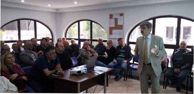 İYİ Parti Eskisehir Il toplantı salonunda