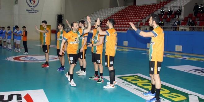Ormanspor-Van Erek hentbol maçı 42-17