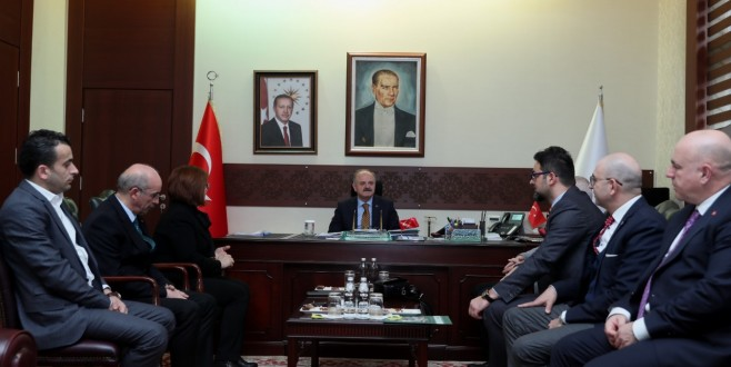 Vali Çakacak, Eskişehirli Turizmcileri Kabul Etti
