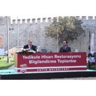YEDİKULE HİSARI RESTORE EDİLİYOR